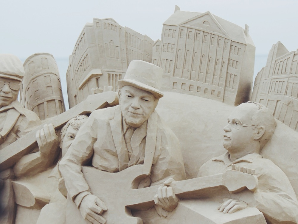 2014 national sand sculpting festival – Revere Beach, MA